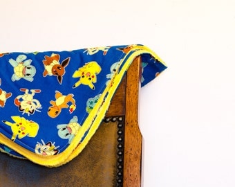 Baby Blanket - Soft and Cuddly - Pokemon - Cotton