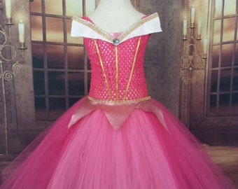 Sleeping Beauty tutu dress, sleeping beauty costume, sleeping beauty dress,Princess dress, pink Princess tutu dress, pink tutu