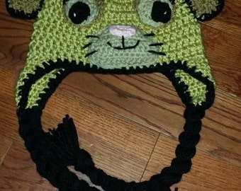 Crochet Lion Hat