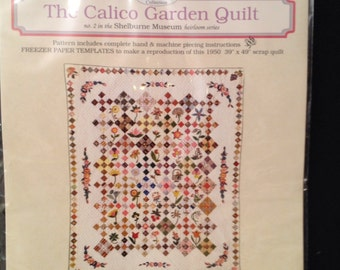 The Calico Gardern Quilt Pattern