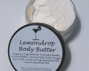 Organic Lemondrop Body Butter