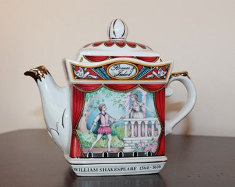 Sadler Teapot – Shakespeare's Romeo and Juliet – Made in England