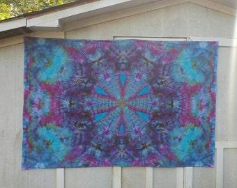 Tie Dye Tapestry Mandala TWIN