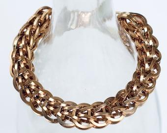 Copper color bracelet