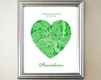 Providence Heart Map