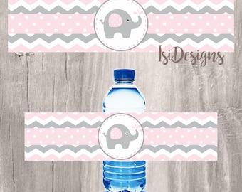 Elephant Baby Bottle Etsy