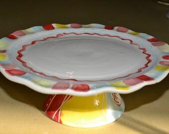 2-Piece Cake Plates