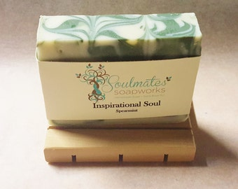 Shea Butter Spearmint Soap ~ Inspirational Soul Soap