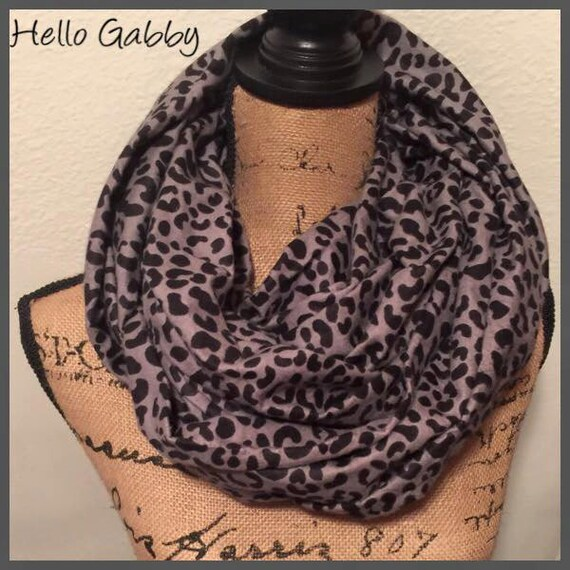 Infinity scarf with hidden pocket sewing tutorial pattern diy pocket travel scarf secret pouch for Travel scarf