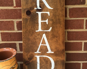 READ sign