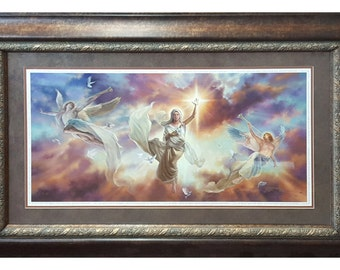 Glory to God in the Highest by Tom Dubois Framed Religious Art Limited Edition and Signed by Artist