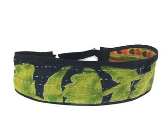 Headband, Kantha, Reversible, Adjustable