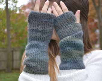 Boho Fingerless Gloves Arm Warmers