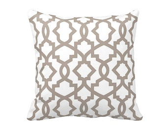 7 Sizes Available: Taupe Throw Pillow Cover Taupe Pillow Cover Beige Pillow Taupe Accent Pillow 20x20 pillow 24x24 pillow Euro Pillow
