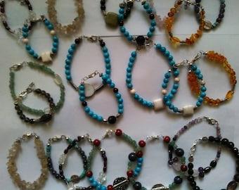 Exceptional lot jewelry semi-precious Gemstones