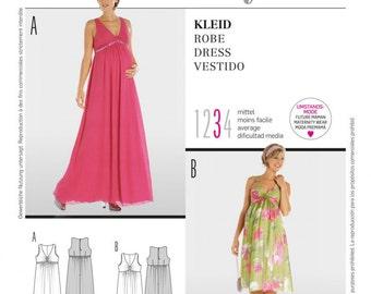 Burda Pattern 7630 Misses Dress