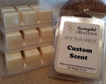 Custom Scent Soy Wax Melts / Soy Wax Tarts / Highly Scented wax melts