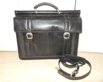 Vintage Wilsons Leather laptop/briefcase bag