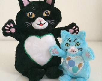 TimTom the Cat and Family - Machine Embroidery ITH - 4x4, 5x7, hoop - Vp3. Vip, Pes, Hus, Exp, DST, XXX & Jef formats.