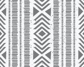 Changing Pad Cover Gray Geometric Tribal, Organic Changing Pad Cover, Changing Pad, Contour Changing Pad Covers, Crib Bedding, Nursery