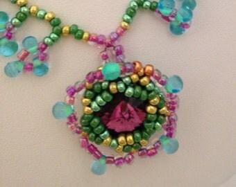 Flower Garden Necklace