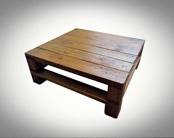 Handmade Recycled pallet Coffee Table 12