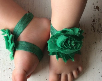 Barefoot sandals; baby barefoot sandals; green sandal; toddler barefoot sandal; sandal