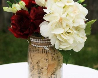 Mason Jar, Rustic Centerpiece, Rustic Table Decor, Rustic Wedding, Wedding Decor, Wedding Decoration, Table Decor, Wedding Centerpiece