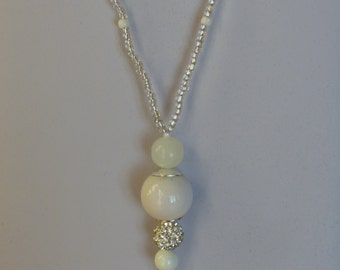 Long necklace SNOW-MADE in FRANCE