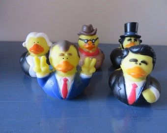 U.S. Presidents - classroom props, gag gifts, parties, cake toppers - Washington, Lincoln, Roosevelt, Nixon, Reagan