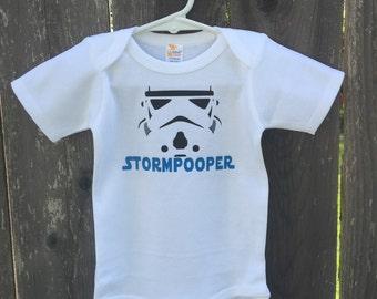 Star wars inspired Storm Pooper bodysuit!