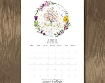 2016 A4 Calendar