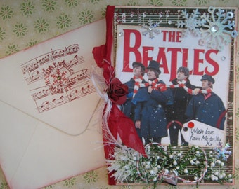 Beatles Christmas Card, With Love From Me to You, 'Help!' Movie