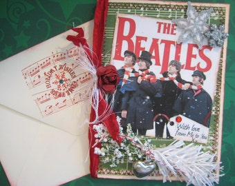 Beatles Christmas Card, With Love From Me to You