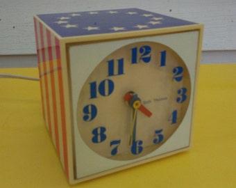 Vintage Seth Thomas bicentennial Reveille alarm clock