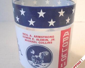 Moon Landing – Apollo 11 – Commemorative glass – June 20, 1969