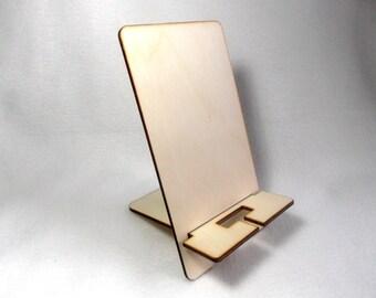 Mobile phone holder wood