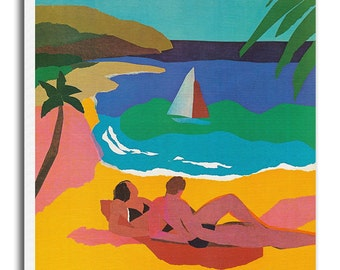 St. Thomas Art St. Croix Travel Poster Vintage Home Decor Print Retro xr504