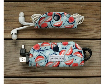 Ear buds & charger holders - Foliage