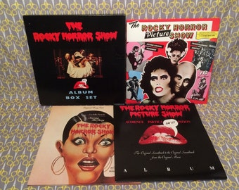 Rocky Horror Picture Show Vinyl Record Album LP Box Set limited edition numbered 4LP