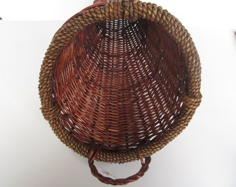 Cornucopia Basket - Fall Decoration - 18'' long