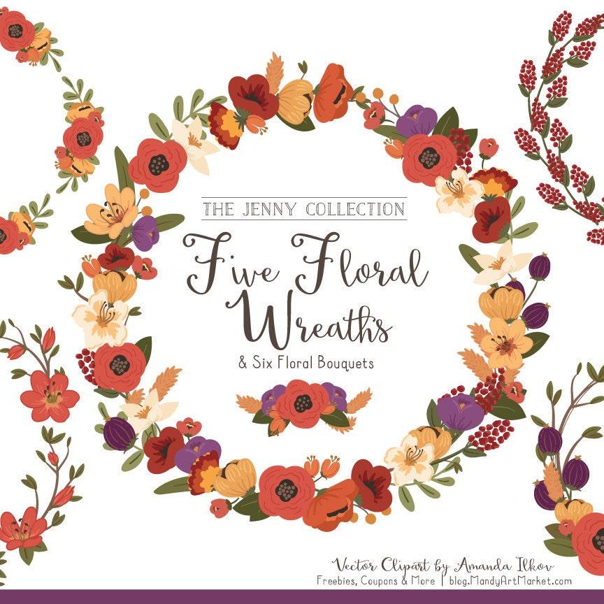 Autumn Floral Wreaths & Bouquets Autumn Flowers Autumn