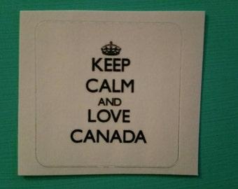 Love Canada sticker