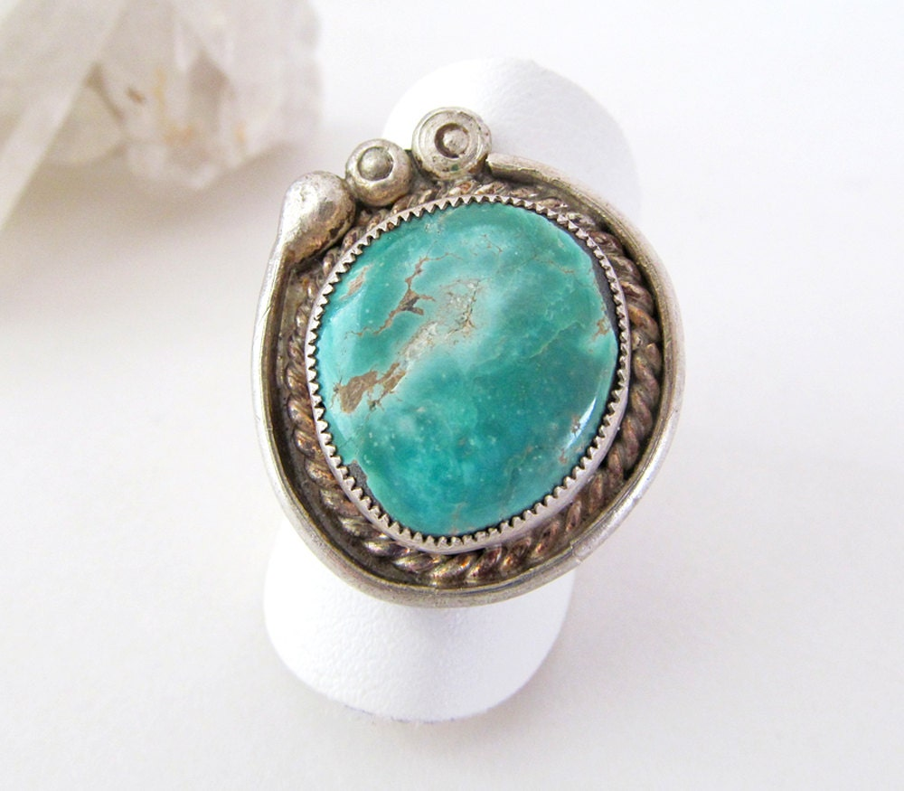 turquoise ring american jewelry sterling silver ring