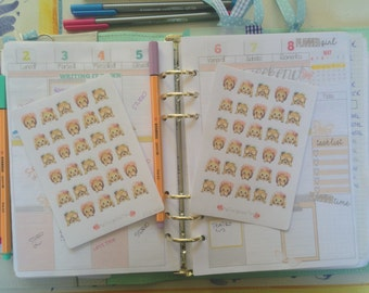 Kawaii stickers P.G.S. series: Monkey