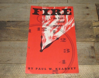1958 Published for GM Men and Women Call the Firemen Pamphlet