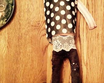 """Change """"Art Lover"""" handmade Doll"""