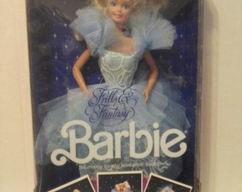 Frills & Fantasy Barbie in box never opened 1988