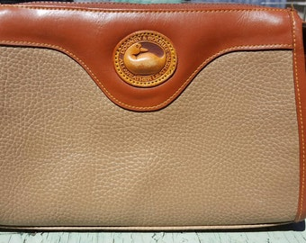 1990s Dooney and Bourke with long adjustable strap