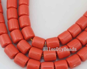 High Quality Coral beads,One Full Strand,Coral Beads, Orange Coral Stone, Gemstone Beads-about -16*15mm-15inches 23Pcs--BC032